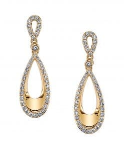 Diamond Earrings - Drops & Dangles Style #: MARS-26578
