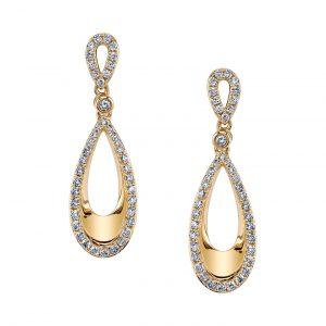Diamond Earrings - Drops & Dangles Style #: MARS-26578
