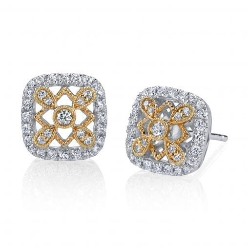 Diamond Earrings - Studs<br> Style #: MARS-26581