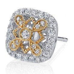 Diamond  Earrings <br>Style #: iMARS-26581
