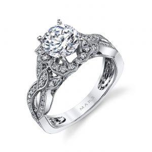 Halo Engagement RingStyle #: MARS 26592