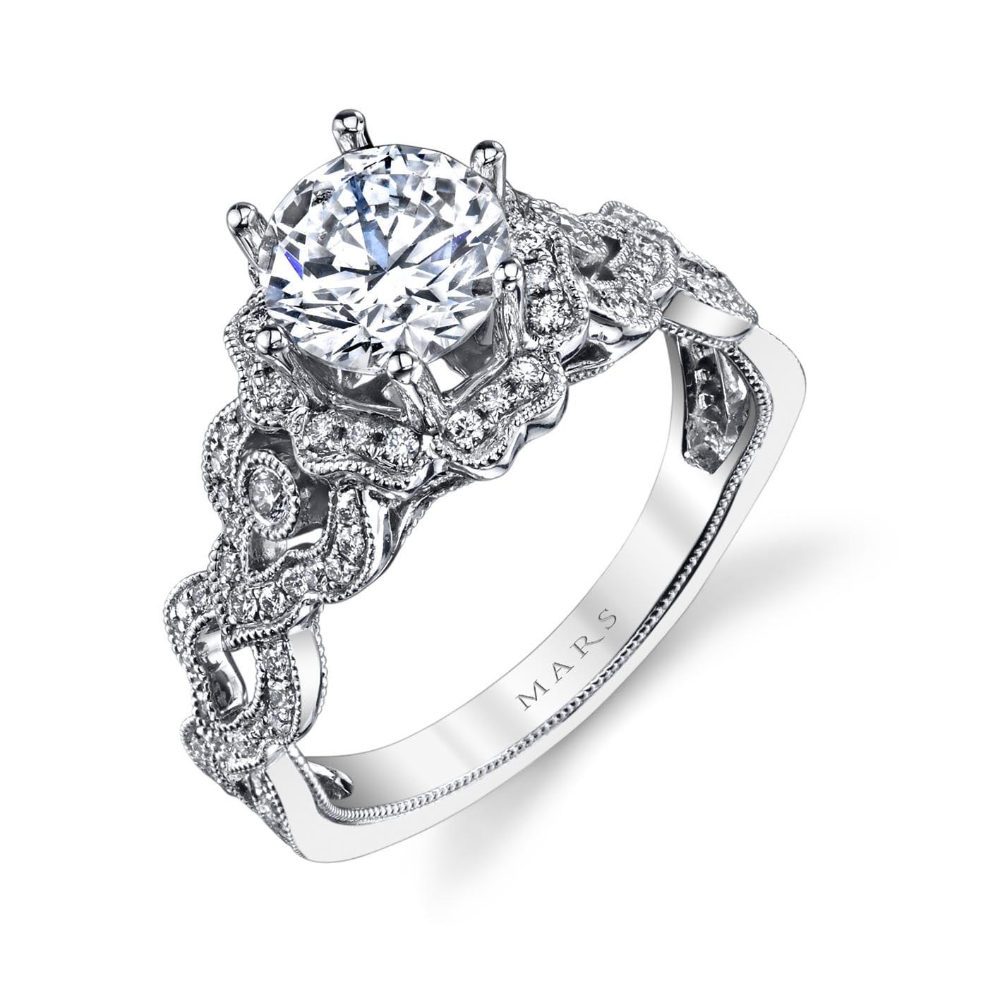 Halo Engagement RingStyle #: MARS 26593