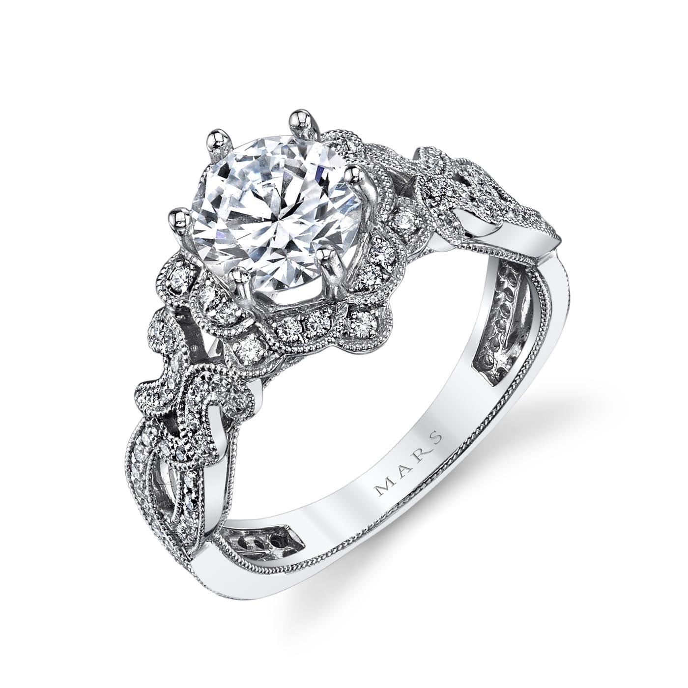Halo Engagement RingStyle #: MARS 26594