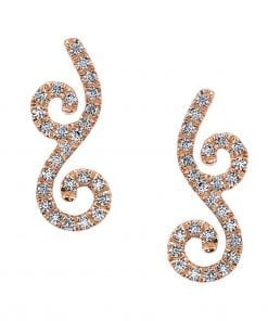 Diamond Earrings - Studs Style #: MARS-26612