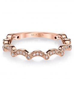 Diamond Ring - Stackable Style #: MARS-26624