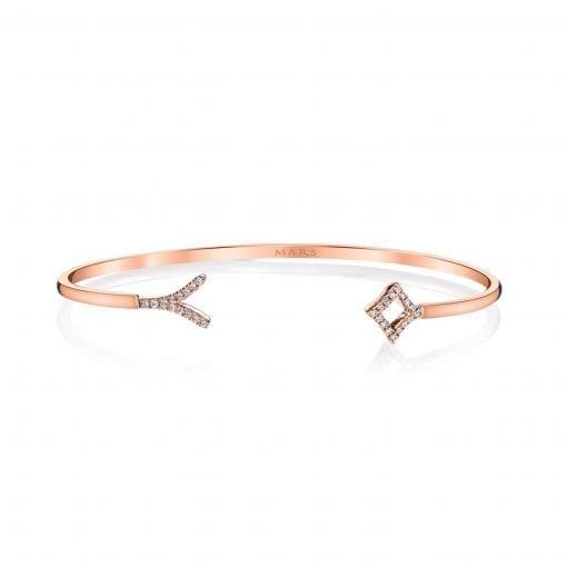 Diamond Bracelet - Bangles & Cuffs<br> Style #: MARS-26627
