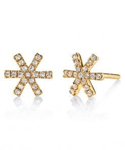 Diamond Earrings - Studs Style #: MARS-26678