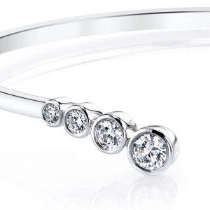 Diamond Bracelet - Bangles & Cuffs Style #: MARS-26680