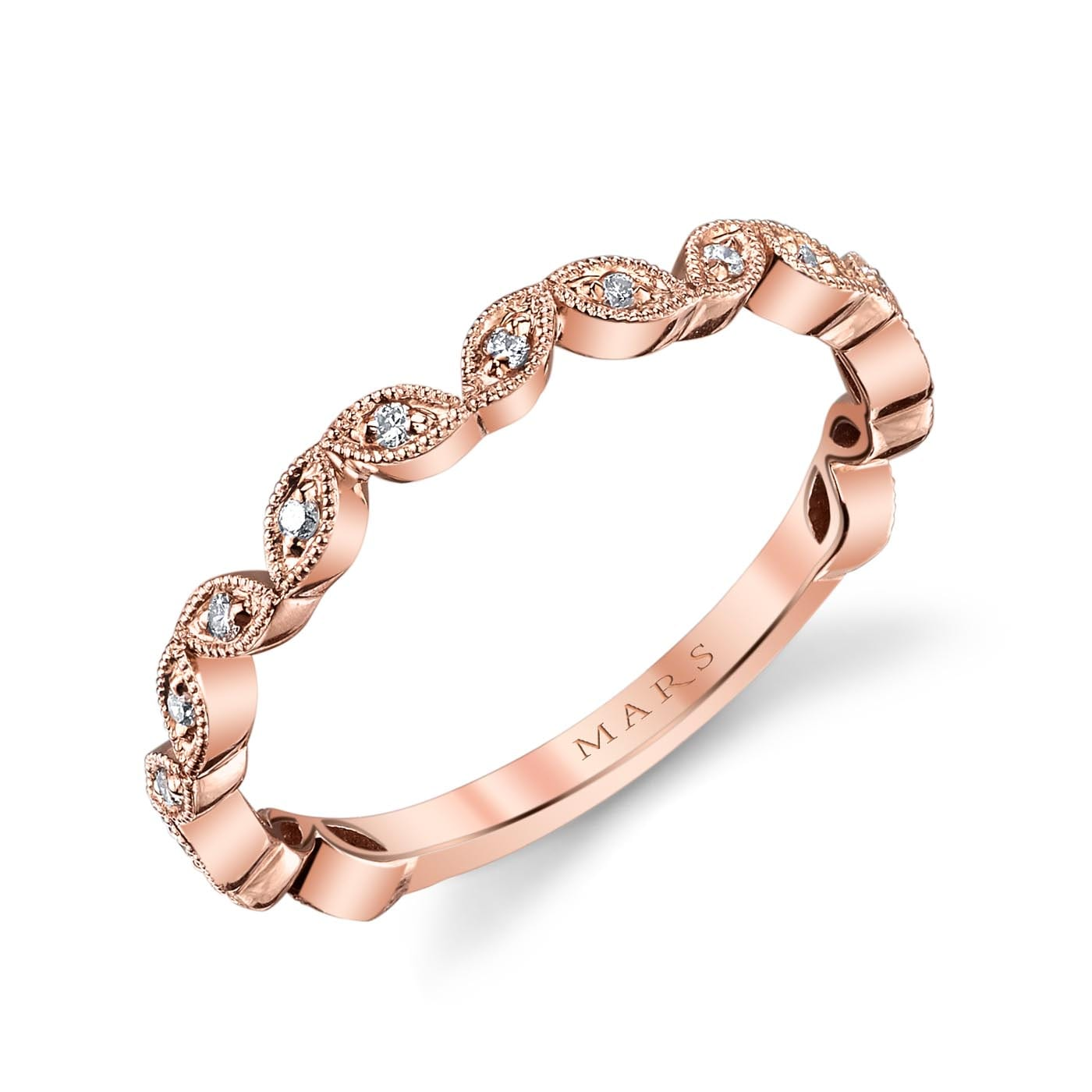Diamond Ring - Stackable Style #: MARS-26692