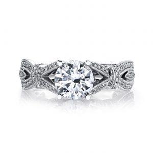 Vintage Engagement RingStyle #: MARS 26695