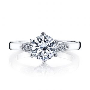 Classic Engagement RingStyle #: MARS 26698