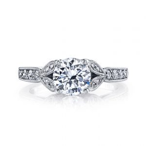 Floral Engagement RingStyle #: MARS 26700