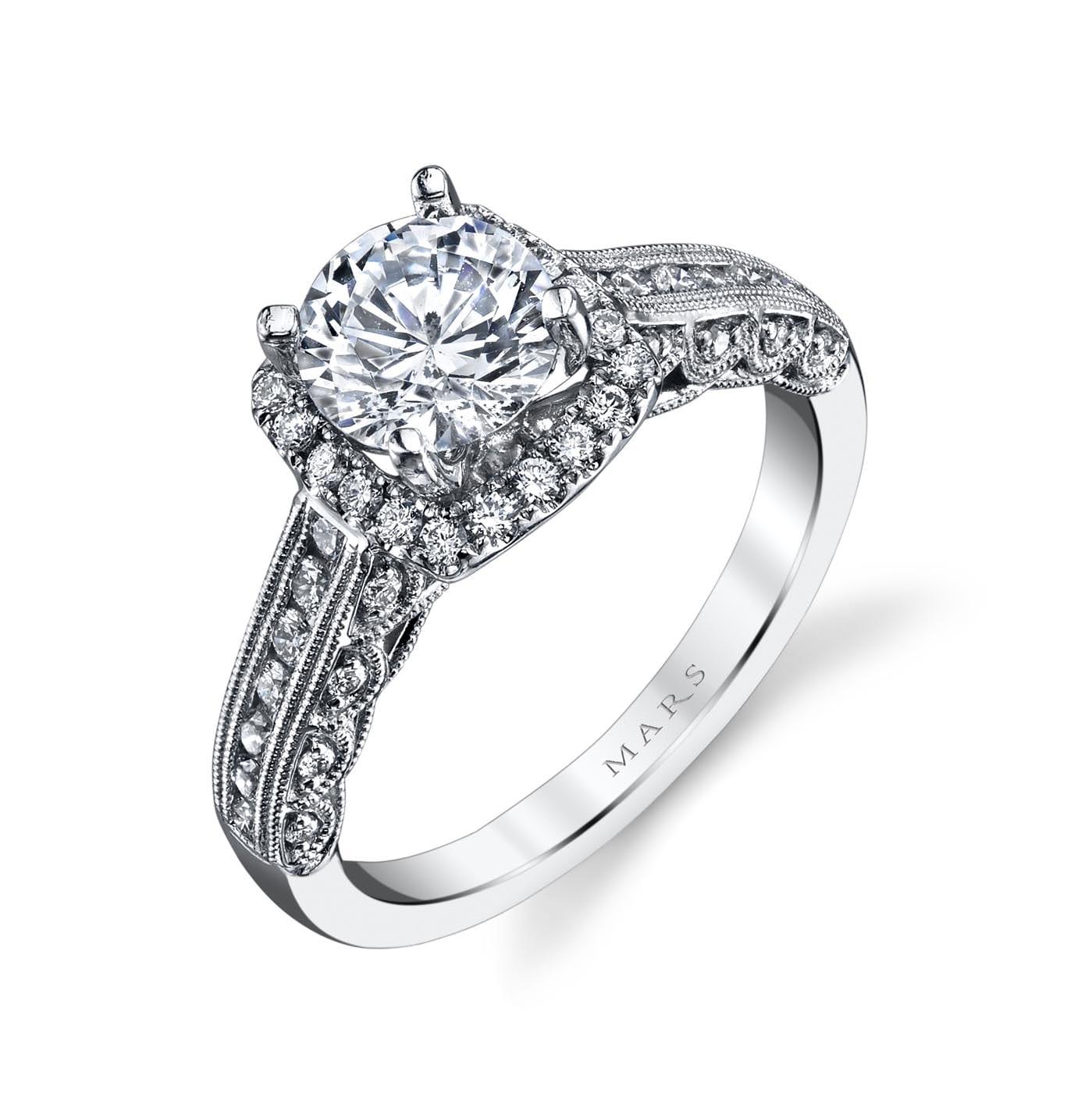Halo Engagement RingStyle #: MARS 26701