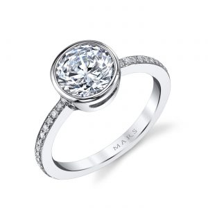 Classic Engagement RingStyle #: MARS 26702D