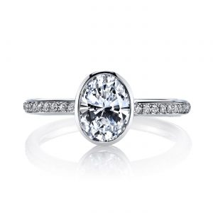Classic Engagement RingStyle #: MARS 26703D