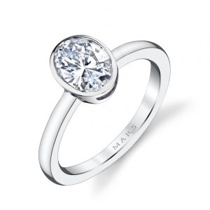 Solitaire Engagement RingStyle #: MARS 26703