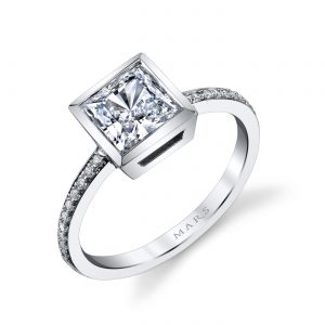 Classic Engagement RingStyle #: MARS 26707D