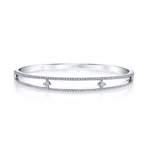 Diamond Bracelet - Bangles & Cuffs<br> Style #: MARS-26721