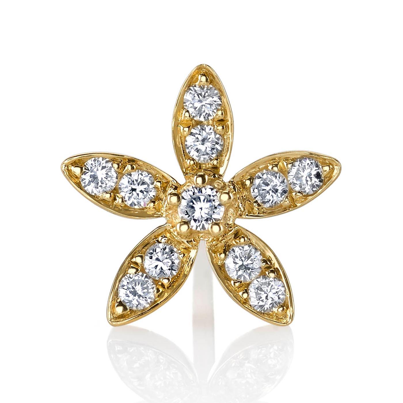 Diamond Earrings - Studs Style #: MARS-26784