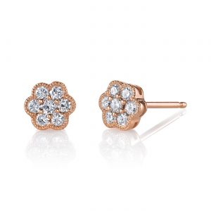 Diamond Earrings - Studs Style #: MARS-26785