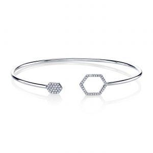 Diamond Bracelet - Bangles & Cuffs Style #: MARS-26810