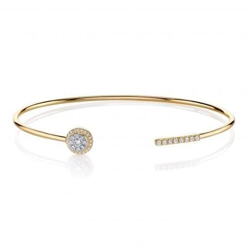 Diamond Bracelet - Bangles & Cuffs<br> Style #: MARS-26811
