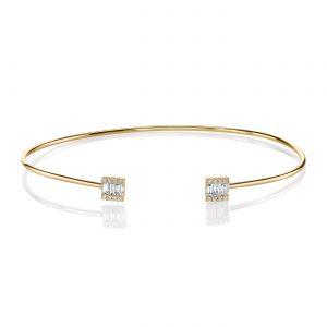 Diamond Bracelet - Bangles & Cuffs Style #: MARS-26814