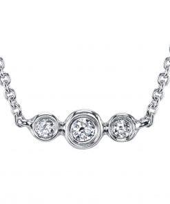 Diamond Necklace Style #: MARS-26819