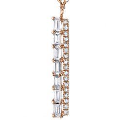 Diamond NecklaceStyle #: MARS-268206