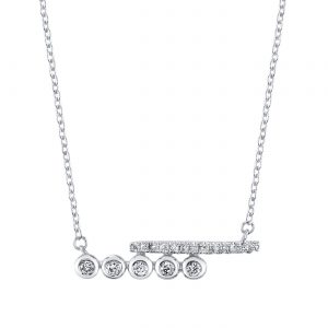Diamond Necklace Style #: MARS-26834