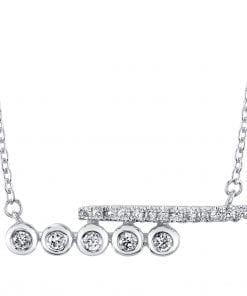 Diamond Necklace Style #: MARS-26834