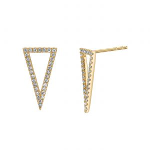 Diamond Earrings - Drops & Dangles Style #: MARS-26838