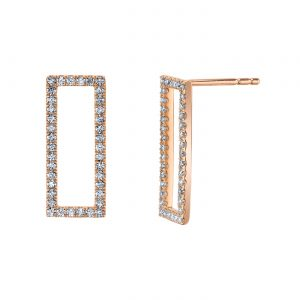 Diamond Earrings - Drops & Dangles Style #: MARS-26839