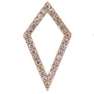 Diamond Earrings - Drops & Dangles Style #: MARS-26840