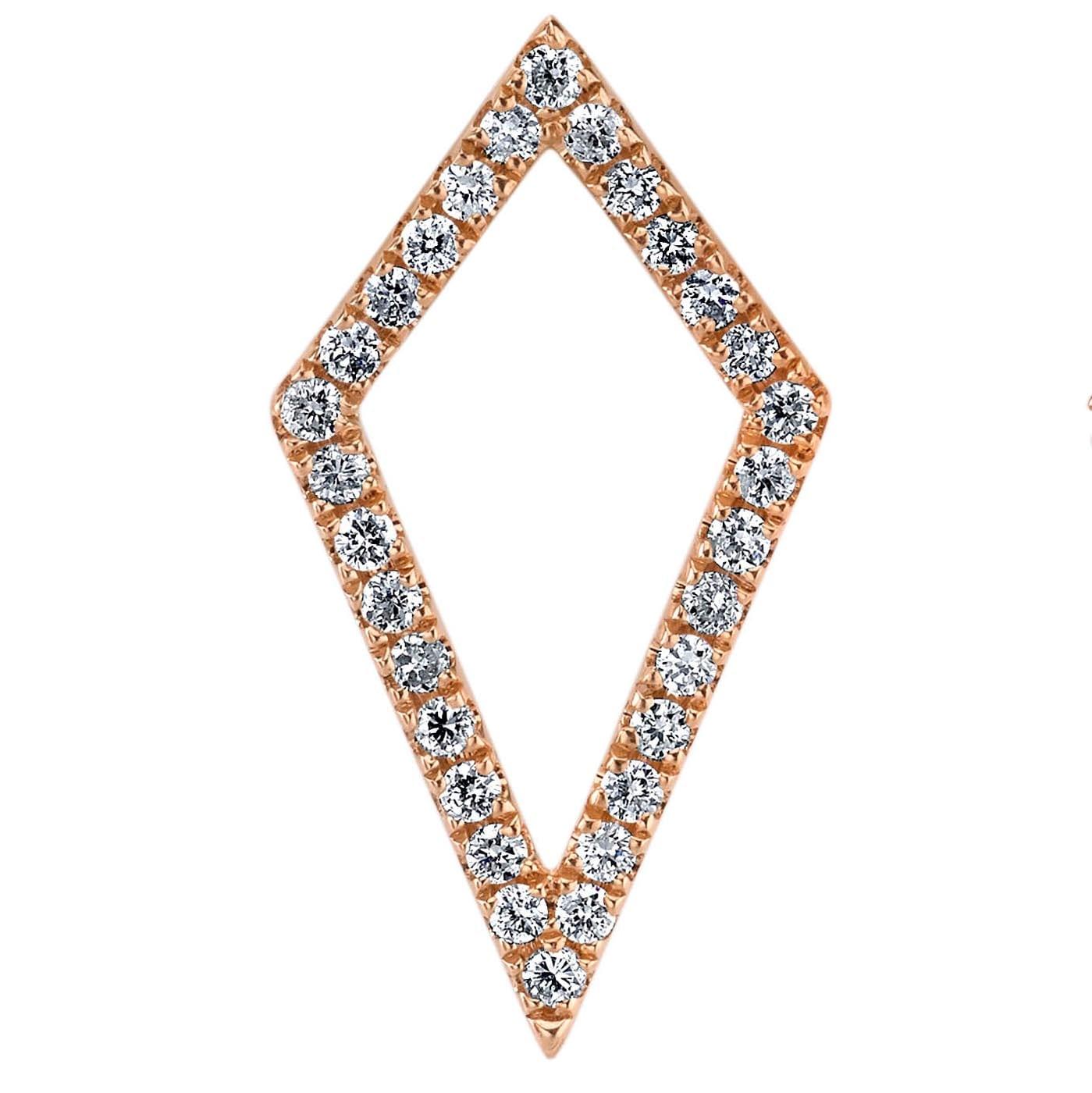 Diamond Earrings - Drops & Dangles Style #: MARS-26840