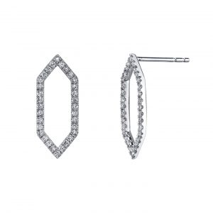Diamond Earrings - Drops & Dangles Style #: MARS-26841