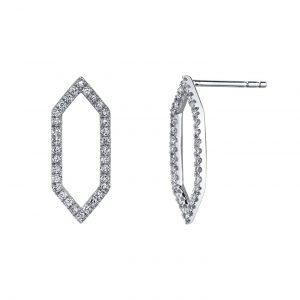 Diamond Earrings - Drops & Dangles Style #: MARS-26841