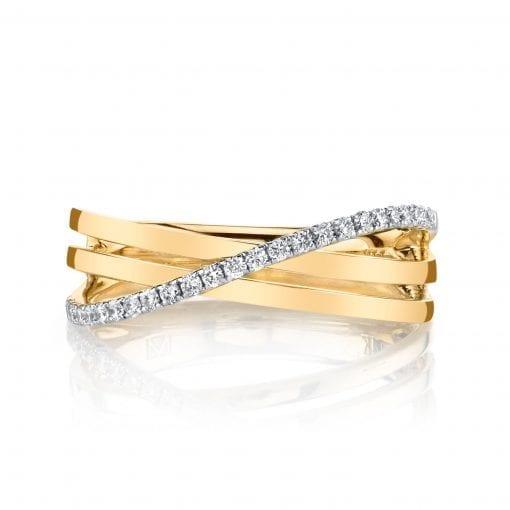 Diamond Ring - Fashion Band<br> Style #: MARS-26853