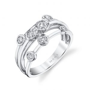 Diamond Ring - Fashion Band Style #: MARS-26855