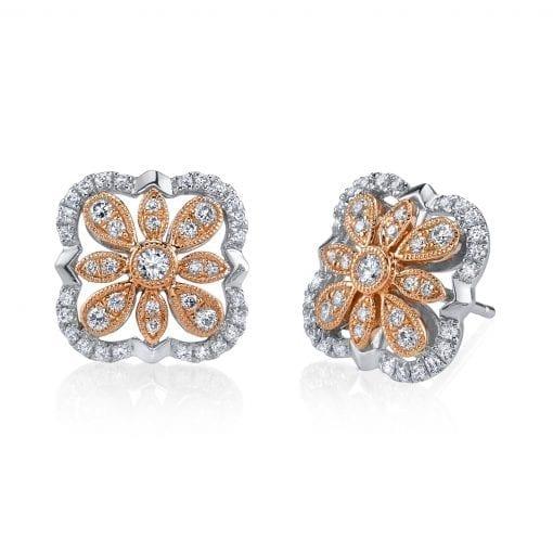 Diamond Earrings - Drops & Dangles<br> Style #: MARS-26861