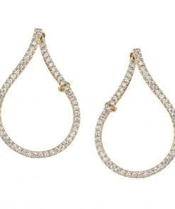 Diamond Earrings - Hoops & Huggies Style #: MARS-26887