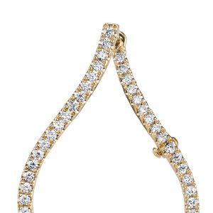 Diamond Earrings - Hoops & Huggies Style #: MARS-26887