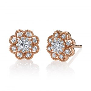 Diamond Earrings - Studs Style #: MARS-26897