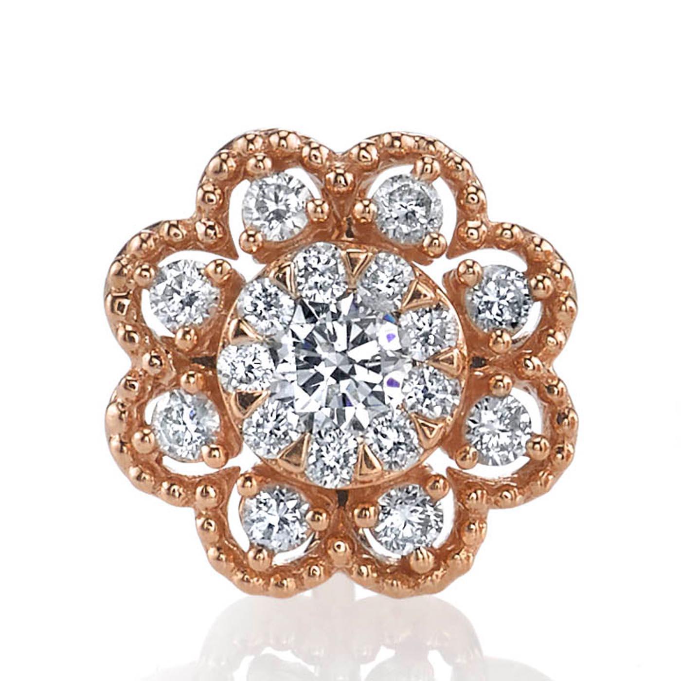 Diamond Earrings - Studs Style #: MARS-26897