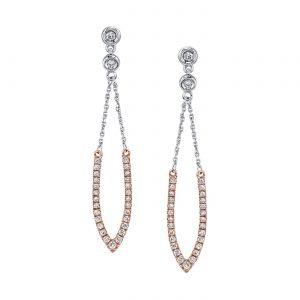 Diamond Earrings - Drops & Dangles Style #: MARS-26904