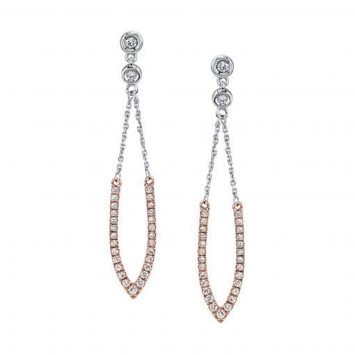 Diamond Earrings - Drops & Dangles<br> Style #: MARS-26904