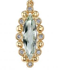 Gemstone Earrings - Drops & Dangles Style #: MARS-26925