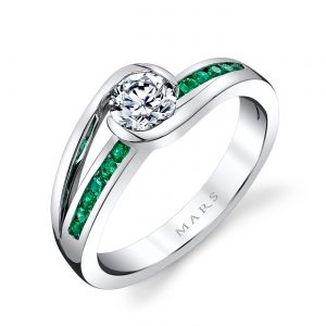 Infinity Engagement RingStyle #: MARS 28101