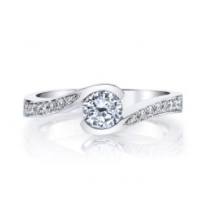Infinity Engagement RingStyle #: MARS 28173