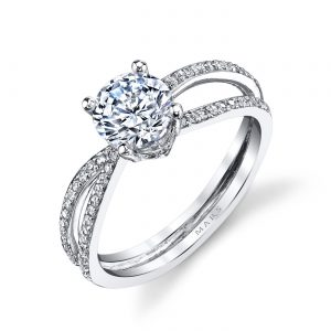 Infinity Engagement RingStyle #: MARS A11